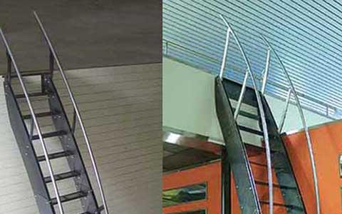 Escaleras para espacios reducidos zona oeste zona norte for Escaleras modernas para espacios pequenos