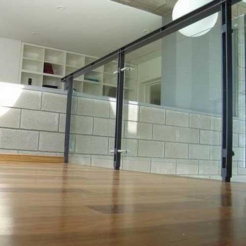 Barandas curvas de vidrio zona oeste zona norte pilar - Baranda de hierro ...
