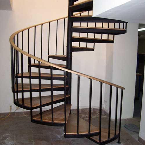 Escaleras caracol vidrio y acero zona oeste zona norte - Precio escalera caracol ...