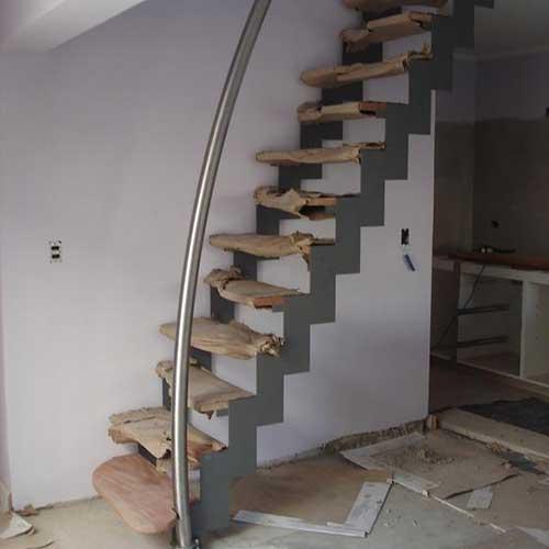 Escaleras de acero inoxidable zona oeste zona norte pilar moreno precios fabrica de escaleras - Escaleras espacios reducidos ...