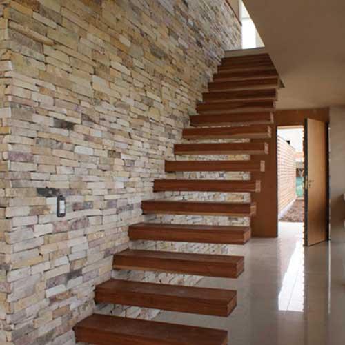 Escaleras a medida acero y vidrio zona oeste zona norte for Como hacer una escalera con descanso