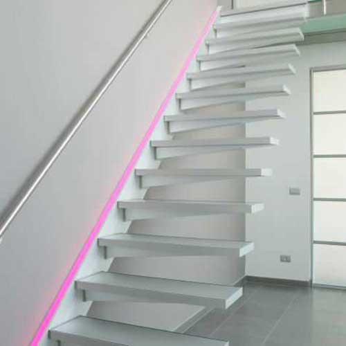 Escaleras a medida acero y vidrio zona oeste zona norte - Peldanos de escaleras precios ...