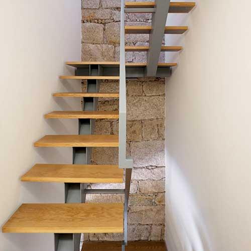 escaleras de acero inoxidable vidrio zona oeste zona norte