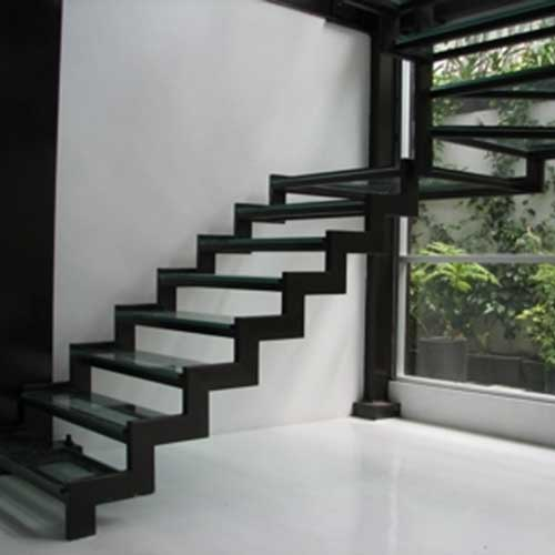 escaleras de ejes laterales